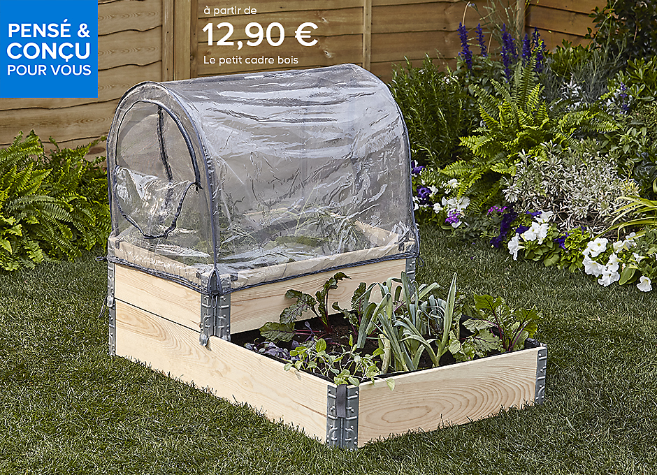 les carr s potagers kitchen garden castorama. Black Bedroom Furniture Sets. Home Design Ideas