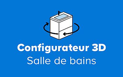 Salle de bains et wc castorama - Configurateur cuisine 3d ...