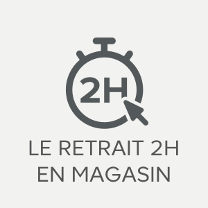 Le retrait 2h en magasin