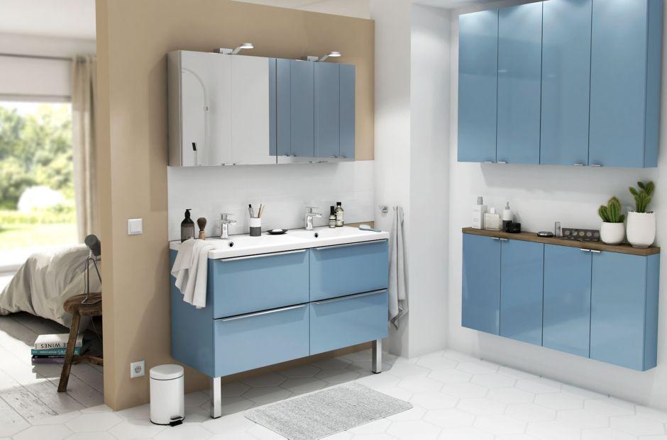 Les meubles de salle de bains imandra castorama - Lavabo salle de bain castorama ...