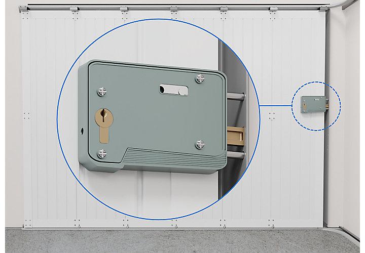 Choisir un système de sécurité pour porte de garage castorama
