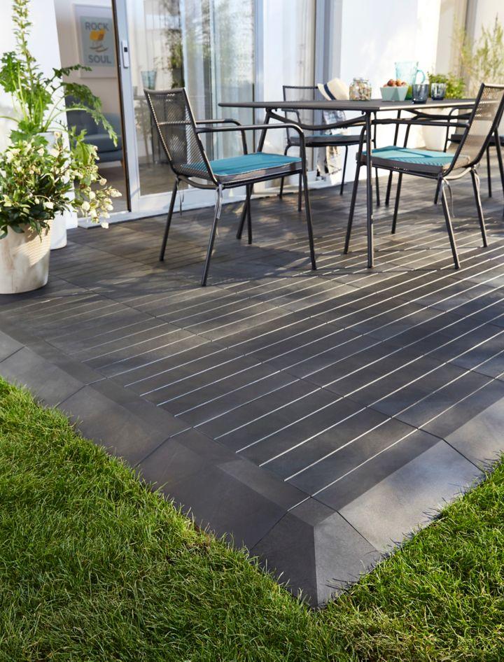 pr parer l installation d une terrasse en bois castorama. Black Bedroom Furniture Sets. Home Design Ideas