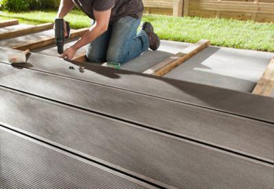 Beau Expanded, Installer Une Terrasse En Pose Vissée Conception Impressionnante