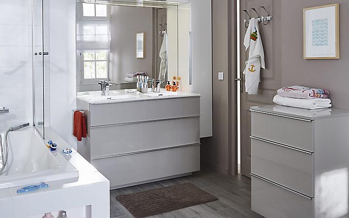 accessoires et rangement salle de bains castorama. Black Bedroom Furniture Sets. Home Design Ideas