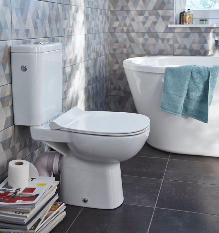 quelles dimensions pour les toilettes castorama. Black Bedroom Furniture Sets. Home Design Ideas