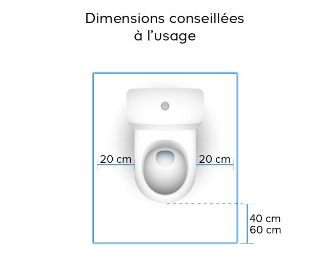 dimension toilettes top largeur minimum douche italienne inspiration dimension toilette. Black Bedroom Furniture Sets. Home Design Ideas