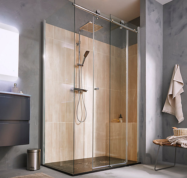douche sur mesure castorama. Black Bedroom Furniture Sets. Home Design Ideas