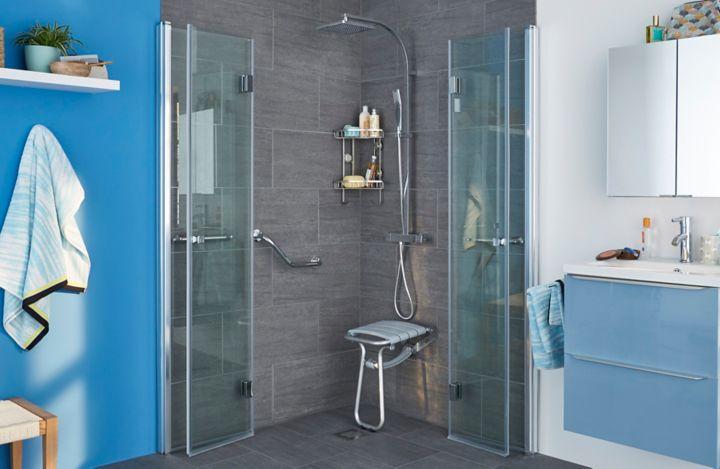 La douche pour personnes à mobilité réduite