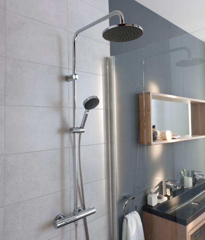 Choisir l quipement de la douche castorama for Equipement douche