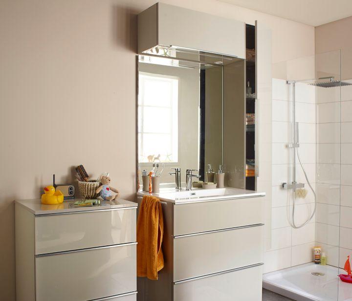 Le Miroir De Salle Bains Simple