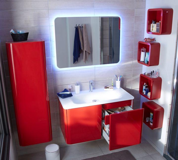 Le Miroir De Salle Bains Lumineux