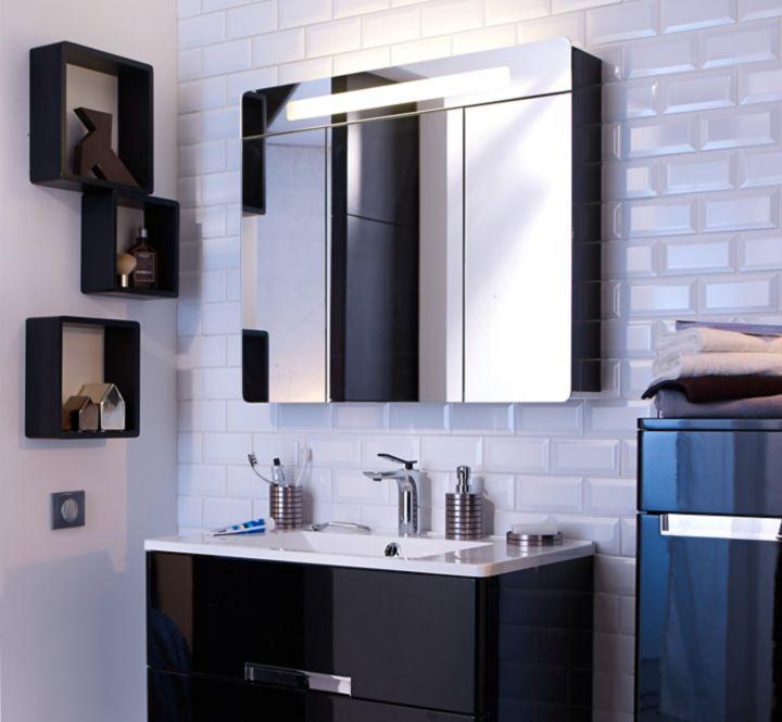 Choisir des meubles de salle de bains castorama - Meuble de rangement castorama ...