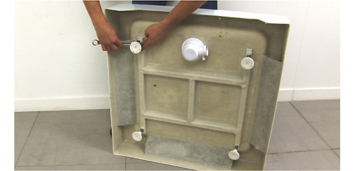 Comment poser une cabine de douche castorama - Poser une paroi de douche fixe ...