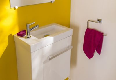 amnagement wc avec lave mains elegant pack wc suspendu. Black Bedroom Furniture Sets. Home Design Ideas