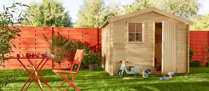 pr parer l installation d un abri de jardin castorama. Black Bedroom Furniture Sets. Home Design Ideas