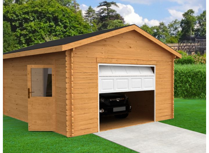 choisir un garage ou un carport castorama. Black Bedroom Furniture Sets. Home Design Ideas