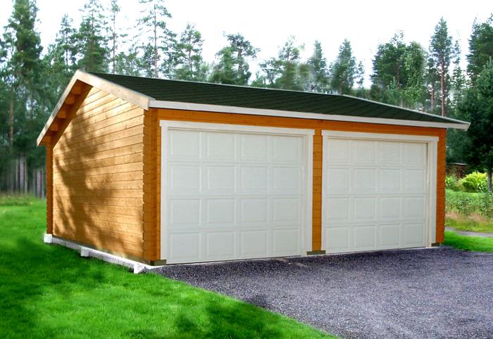 Choisir un garage ou un carport castorama for Garage bois ou parpaing