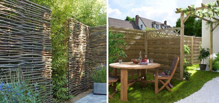 Quels sont les diffrents types de panneaux de jardin with panneaux composite castorama - Castorama jardin claustra besancon ...