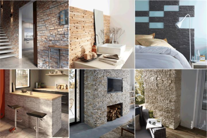 poser des briquettes de parement great briquettes. Black Bedroom Furniture Sets. Home Design Ideas
