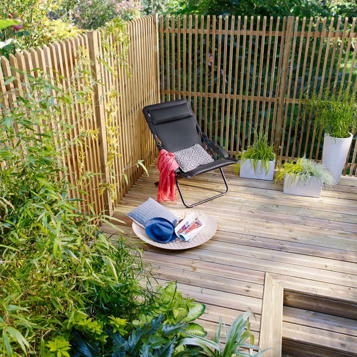 Pr parer l installation de panneaux de jardin castorama - Castorama jardin scarificateur ...
