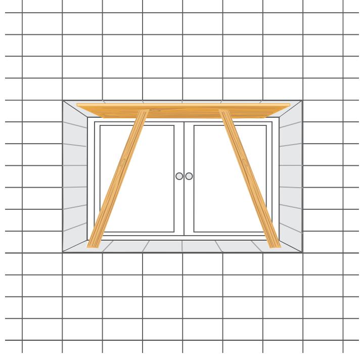 Comment poser du carrelage mural castorama for Embrasure de fenetre