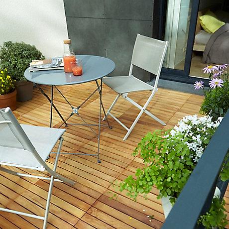 cool ides et conseils comment choisir votre terrasse en bois with chauffage de terrasse castorama. Black Bedroom Furniture Sets. Home Design Ideas