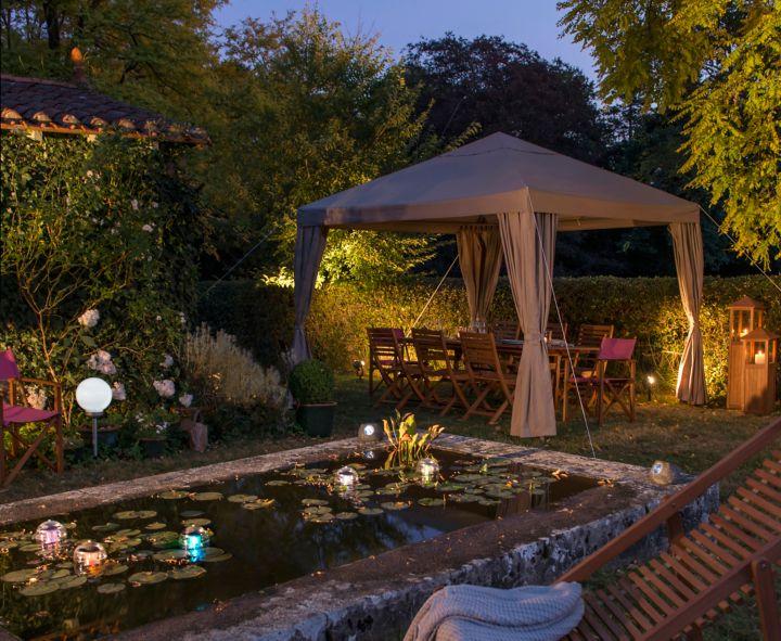 Choisir un clairage ext rieur castorama for Guirlande eclairage exterieur jardin
