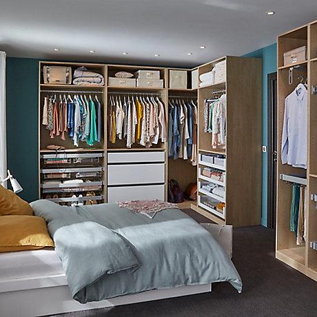 dressing et rangement   castorama - Faire Un Dressing Dans Une Chambre
