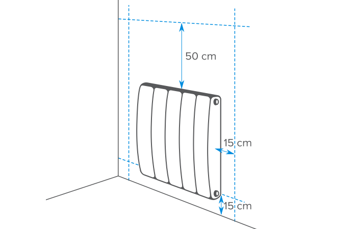 Comment installer un radiateur lectrique castorama - Hauteur d un rideau par rapport au sol ...