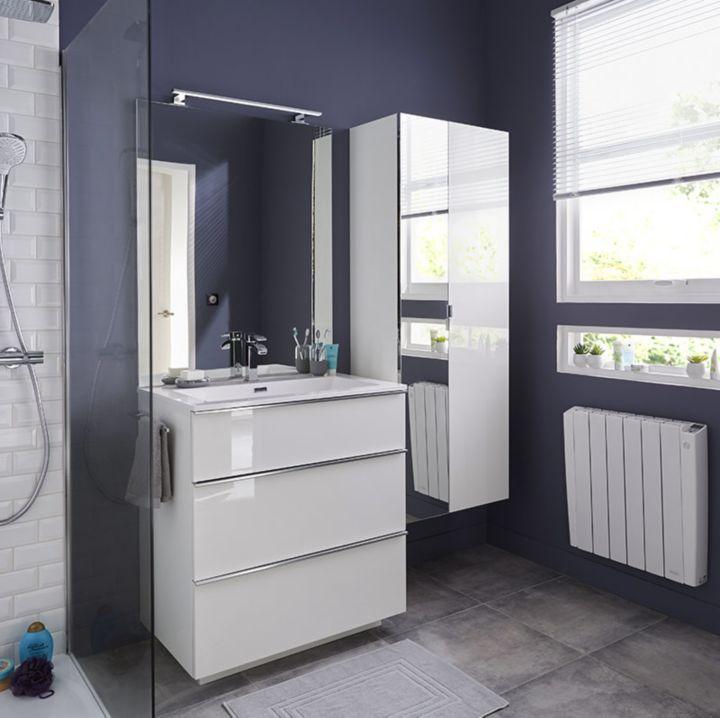 choisir le chauffage pour la salle de bains castorama. Black Bedroom Furniture Sets. Home Design Ideas