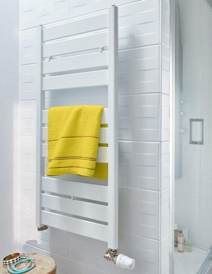 Choisir un s che serviettes chauffage central castorama for Comment choisir un seche serviette