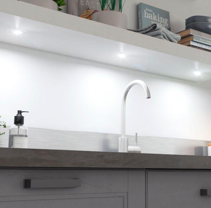 choisir un clairage pour la cuisine castorama. Black Bedroom Furniture Sets. Home Design Ideas
