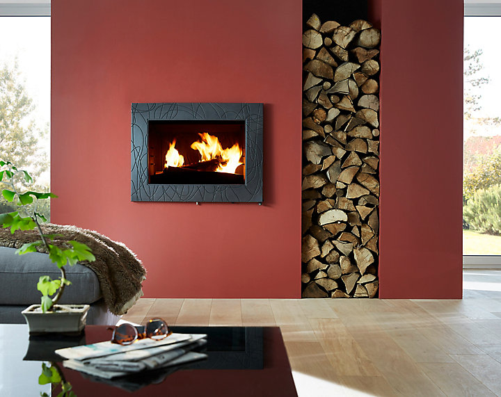 quel chauffage au bois choisir castorama. Black Bedroom Furniture Sets. Home Design Ideas