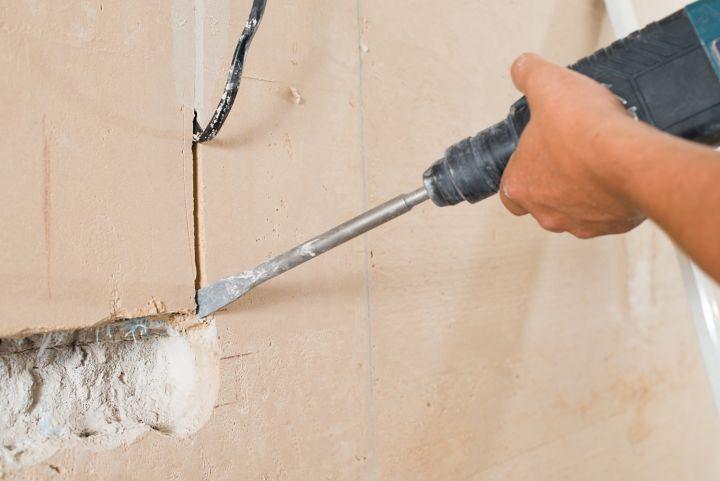 Comment Realiser Une Saignee Dans Un Mur Castorama
