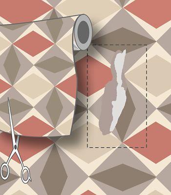 Corriger Les Défauts Du Papier Peint : Réparer Une Déchirure