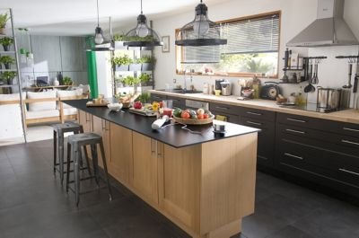 comment agencer sa cuisine cool comment amenager sa cuisine ouverte petite cuisine ouverte sur. Black Bedroom Furniture Sets. Home Design Ideas