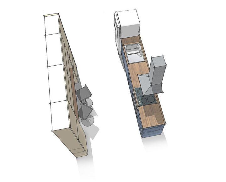 comment agencer une cuisine castorama. Black Bedroom Furniture Sets. Home Design Ideas