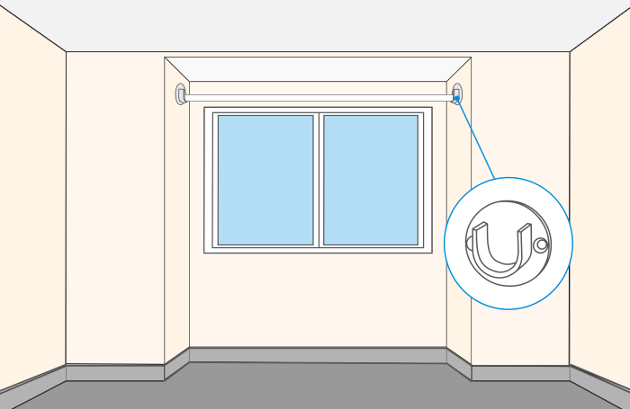 quelle barre rideaux choisir castorama. Black Bedroom Furniture Sets. Home Design Ideas