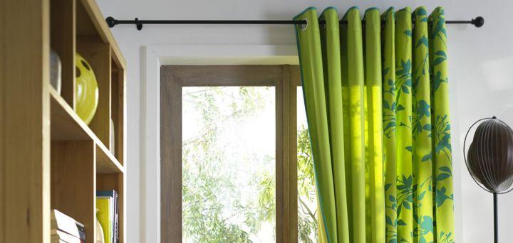 Comment poser une barre rideaux castorama - Hauteur d un rideau par rapport au sol ...