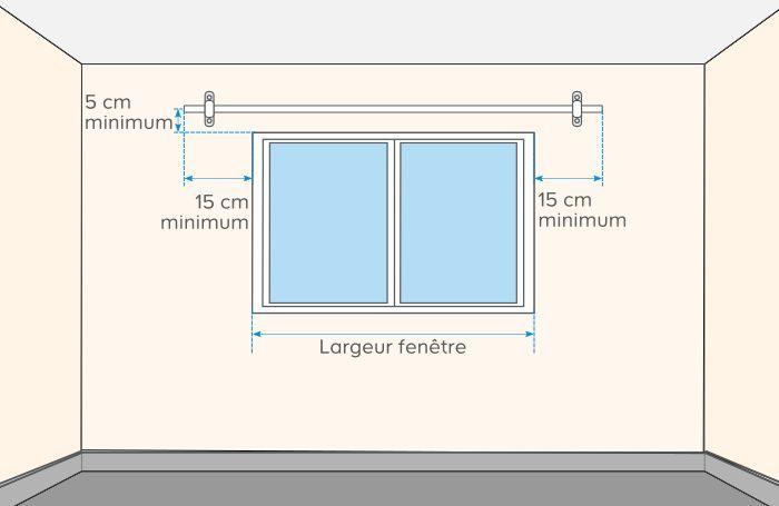 Tringle Rideau Mur A Mur comment poser une barre à rideaux | castorama