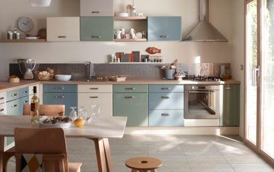 Kitchenette Cuisine Complete Et Meuble Sous Evier Castorama