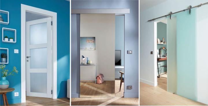comment choisir une porte d int rieur castorama. Black Bedroom Furniture Sets. Home Design Ideas