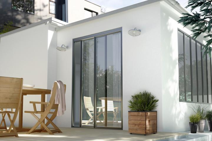 quel rev tement de fa ade choisir castorama. Black Bedroom Furniture Sets. Home Design Ideas