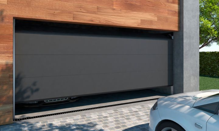 Comment motoriser une porte de garage sectionnelle castorama - Installer une porte de garage sectionnelle ...