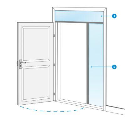 De Haute Qualite Les Dimensions Du0027une Porte Du0027entrée Idees De Conception De Maison