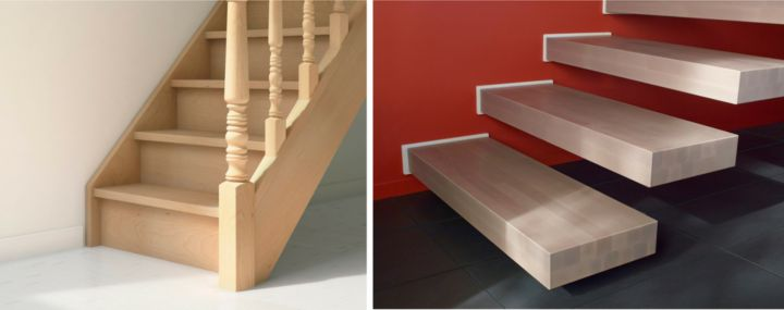 choisir un escalier et un garde corps castorama. Black Bedroom Furniture Sets. Home Design Ideas