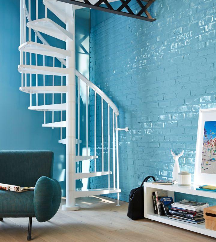 amazing lescalier hlicodal ou en colimaon with castorama escalier colimaon. Black Bedroom Furniture Sets. Home Design Ideas