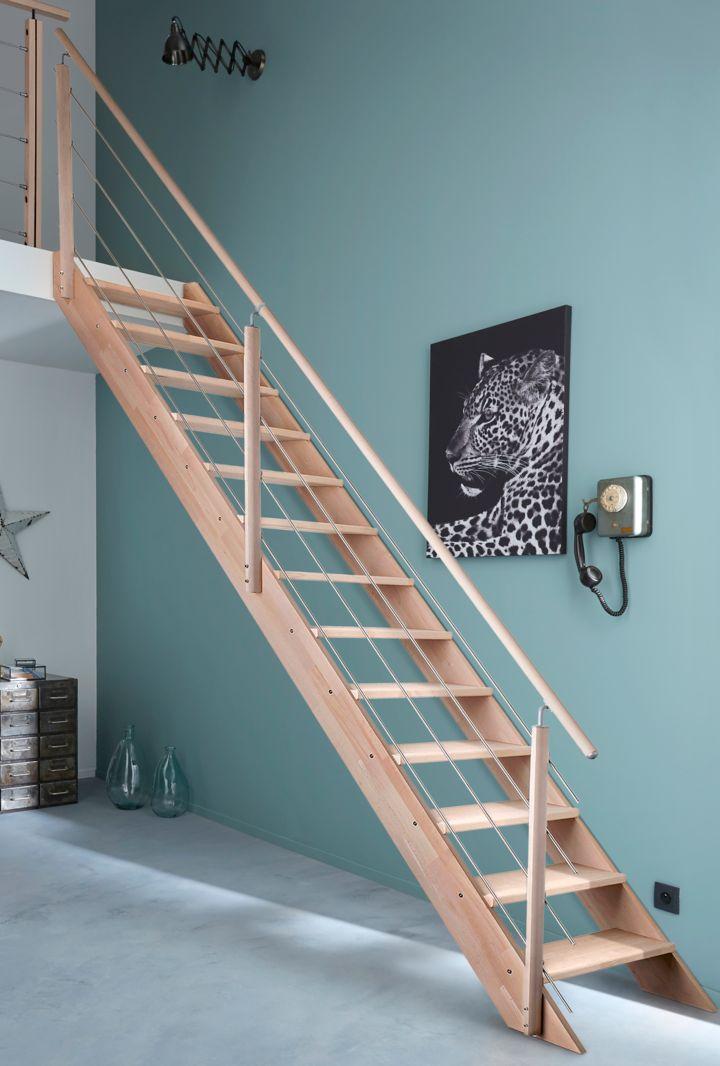 comment poser un escalier droit castorama