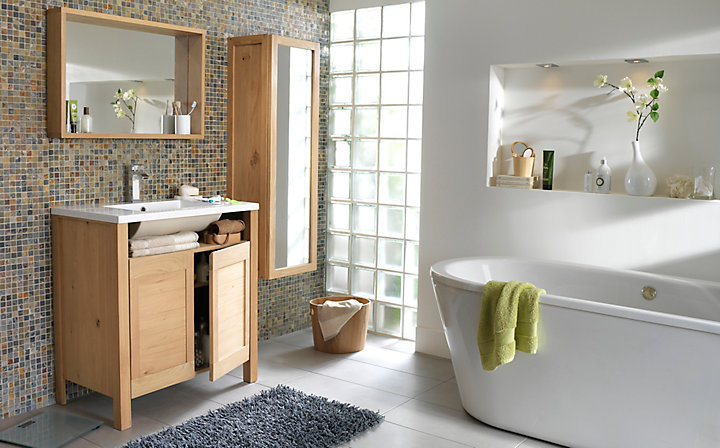 r aliser la plomberie dans une salle de bains castorama. Black Bedroom Furniture Sets. Home Design Ideas