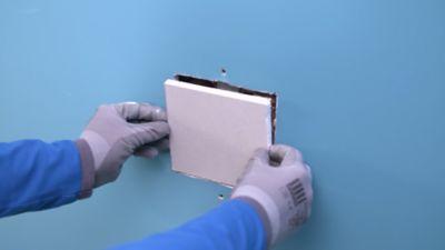 Perfect Comment Réparer Un Mur En Plaques De Plâtre